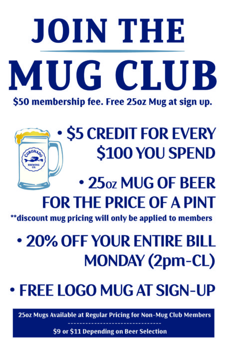 Mug Club Mondays - Coronado Brewing Company