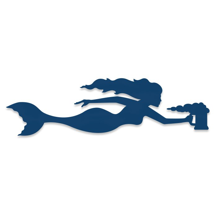 Coronado Mermaid Vinyl Sticker